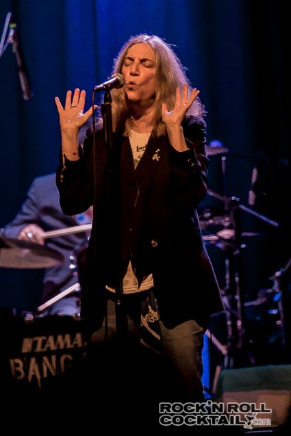 Patti Smith at The Fillmore Photographed by Jason Miller-6