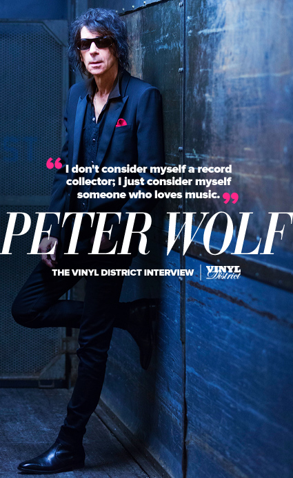 Peter Wolf, The TVD Interview - The Vinyl District