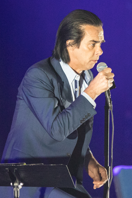 Tvd Live Shots Nick Cave And The Bad Seeds At The