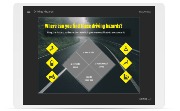 Drag and Drop: Driving Hazards