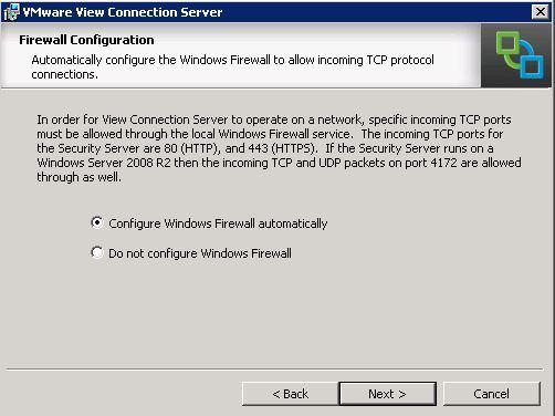 OS Firewall Config
