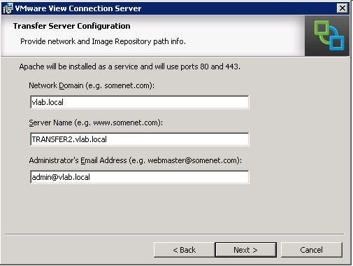 Transfer Server Data
