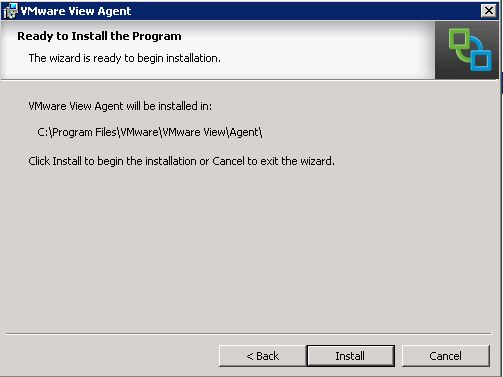 confirm and install