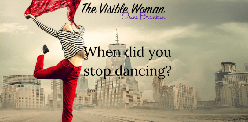 when did you stop dancing?