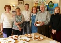 Claire Thomson, Alyson Rogers, Cheff Richard Kingdon, Yvonne Attridge-Ha...
