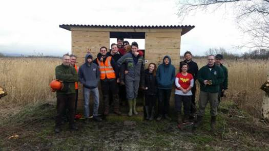 Bridgwater College Countryside Management Students Get Hands On at Westhay Moor