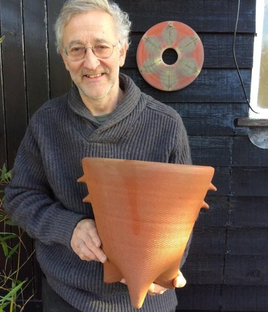 Potter and garden sculptor Jonathan Garrett