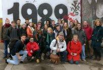group photo Berlin WallRS