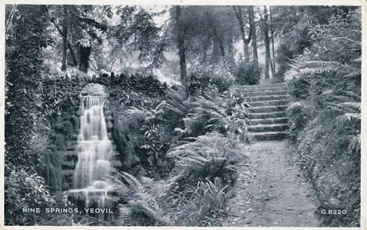Ninesprings large waterfall
