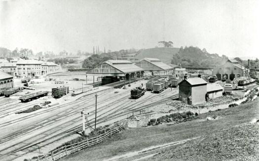 YEOVIL TOWN STATION BROAD GAUGE (C) HERITAGE TEAM SSDC268