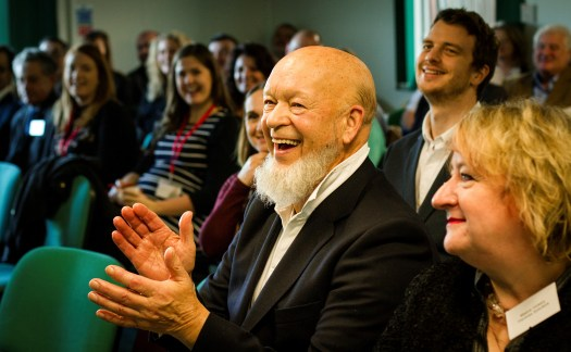 Michael Eavis CBE, who presented at the Summit for Somerset