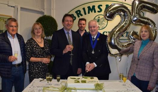 Brimsmore Yeovil Cake cutting