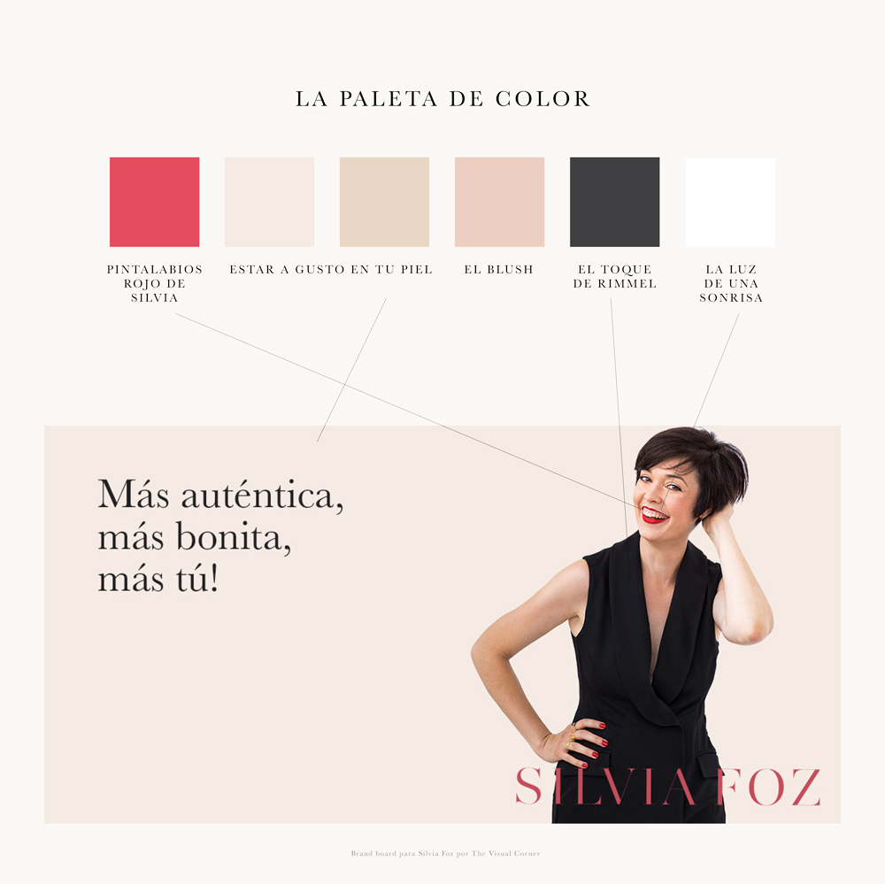 Branding para Silvia Foz por The Visual Corner