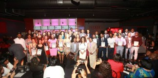 Past winners of Black 40 Under 40 in Nashville, TN (Courtesy Photo)