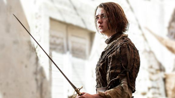 Arya and Khaleesi are among a number of baby names inspired by