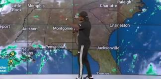 "Atlanta-based rapper Jeezy, aka the Snowman, made a guest appearance on the Weather Channel, also located in Atlanta, to promote his new album, ""TM104: The Legend of the Snowman."" He predicted a high chance of snow in August for the southern city."