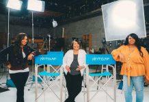 (l-r) Ivy Brown, Hazel Joyner Smith, and Ingrid Smith of IBFF (Courtesy Photo)