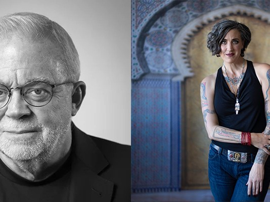 (l-r) Jim Wallis, Nadia Boltz-Weber (Courtesy Photos)