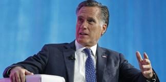 Republican Sen. Mitt Romney of Utah rebuked President Donald Trump on Friday over the President's call for Ukraine and China to investigate the family of former Vice President Joe Biden.