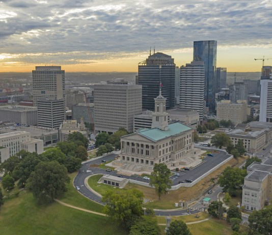 Tennessee State Capitol, Nashville, Tennessee (Photo by: Christopher Boswell   stock.adobe.com)