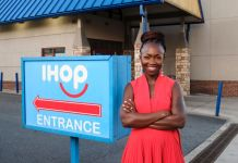 Since escaping civil war in Liberia, Adenah Bayoh opened her first IHOP at age 26 and now owns four in the Newark, New Jersey, area. (Manley Photography)