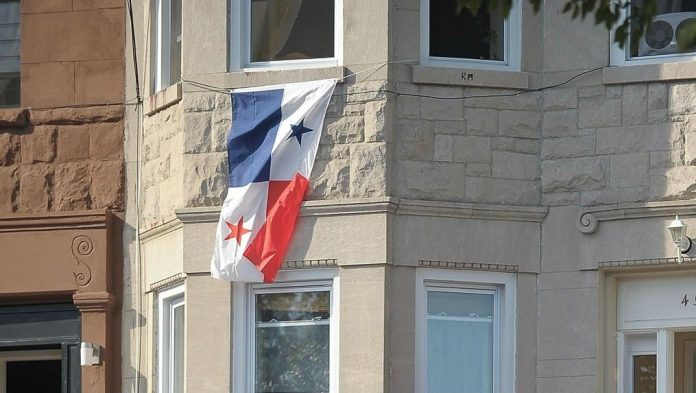 The Panamanian International Film Festival in Los Angeles will take place from Oct. 8 through 10, at the Raleigh Studios in Hollywood. Here, a Panamanian flag hangs from a building in New York, celebrating the country's culture in the U.S. (Michael Loccisano/Getty Images)
