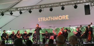 The New Orchestra of Washington performed compositions written by four African American composers on Juneteenth (June 19) at the Strathmore in North Bethesda, Maryland. (Courtesy of the Strathmore)