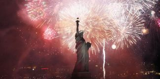 Day of celebration: People across America are celebrating freedom on July 4. (Spencer Platt/Getty Images)