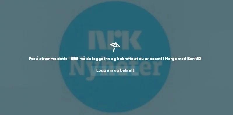 NRK online