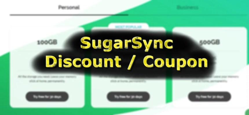 SugarSync Coupon