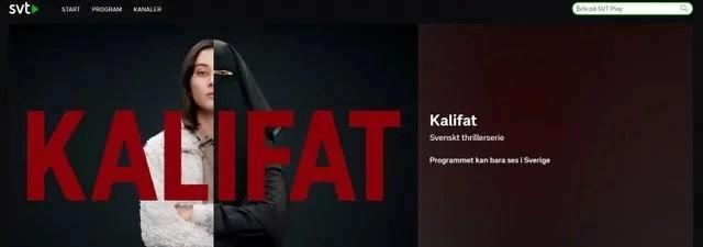 Programmet kan bara ses i Sverige.