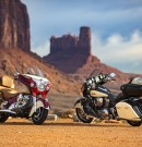 INDIAN MOTORCYCLE'S 2017 ROADMASTER CLASSIC BLENDS VINTAGE STYLING WITH MODERN TOURING AMMENITIES
