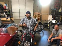 Josh on Scout sidecar 4
