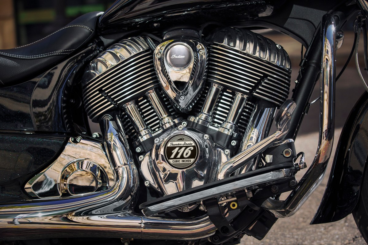INDIAN MOTORCYCLE TAKES THE THUNDER STROKE 111 TO ANOTHER LEVEL  WITH NEW 116-CUBIC-INCH STAGE 3 BIG BORE KIT