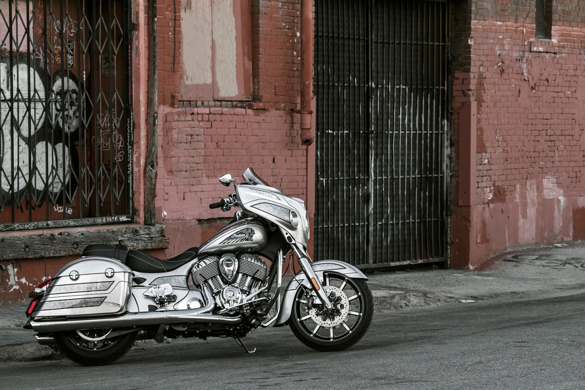 INDIAN MOTORCYCLE INTRODUCES 2018 LIMITED-EDITION  CHIEFTAIN ELITE WITH ONE-OF-A-KIND BLACK HILLS SILVER PAINT