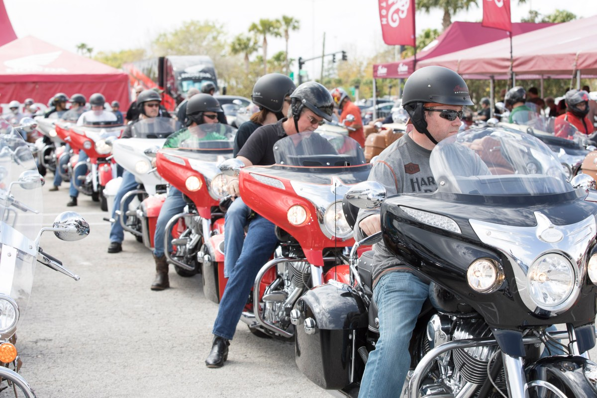 INDIAN MOTORCYCLE AND PROGRESSIVE MOTORCYCLE INSURANCE PARTNER ON NATIONAL DISPLAY & TEST RIDE TOUR