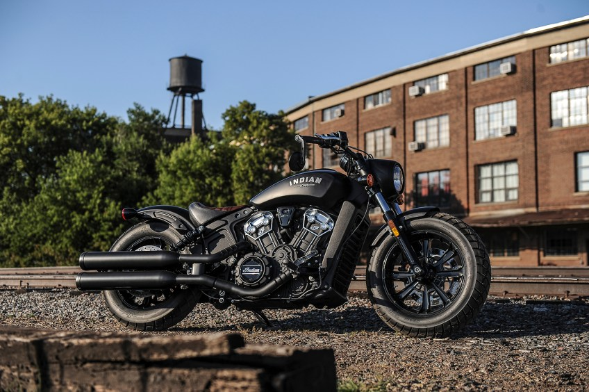 Indian Scout Bobber 2017 - The V-Twin Blog
