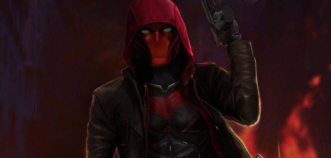 Red Hood Titans Concept Art
