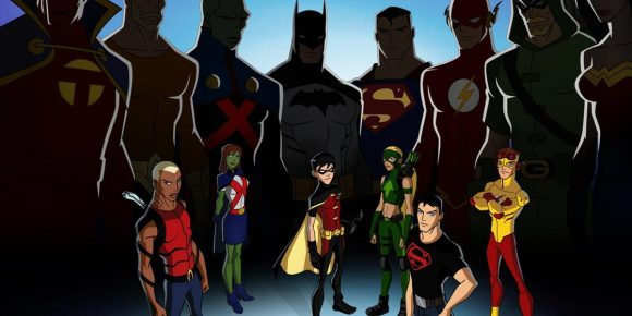 Young Justice Season 1 Promotional Poster