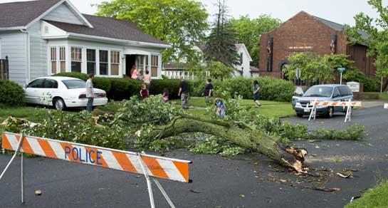 Storm damage 5-30-15-Central Ave