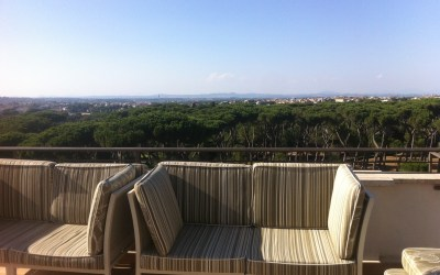 On the rooftops of Rome: Marriott Grand Hotel Flora (Via Veneto)