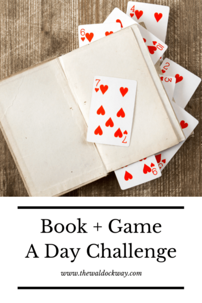 Starting back to homeschool after a long break can be difficult. Each year to kick off the new year and help ease us back into things we do what we call a book and a game a day.