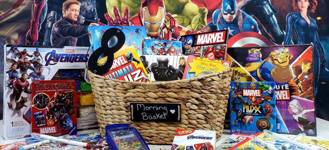 Marvel Morning Basket