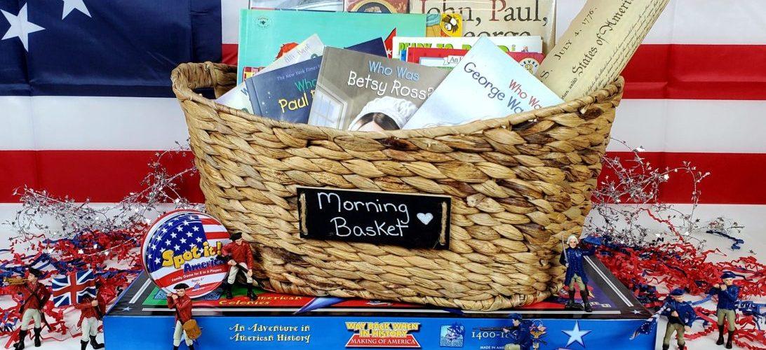 American Revolution Morning Basket