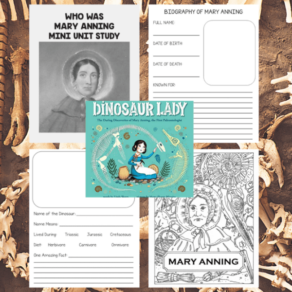 Mary Anning was an English fossil collector, dealer, and palaeontologist who became known around the world for finds she made in Jurassic marine fossil beds in the cliffs along the English Channel at Lyme Regis in the county of Dorset in Southwest England. Learn more about her and honor the veterans with this unit study that is appropriate for ALL ages.