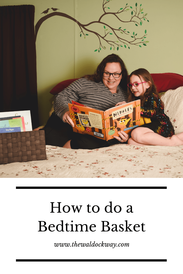 Morning baskets have revolutionized our homeschool, so we decided to see what effect a bedtime basket might have.