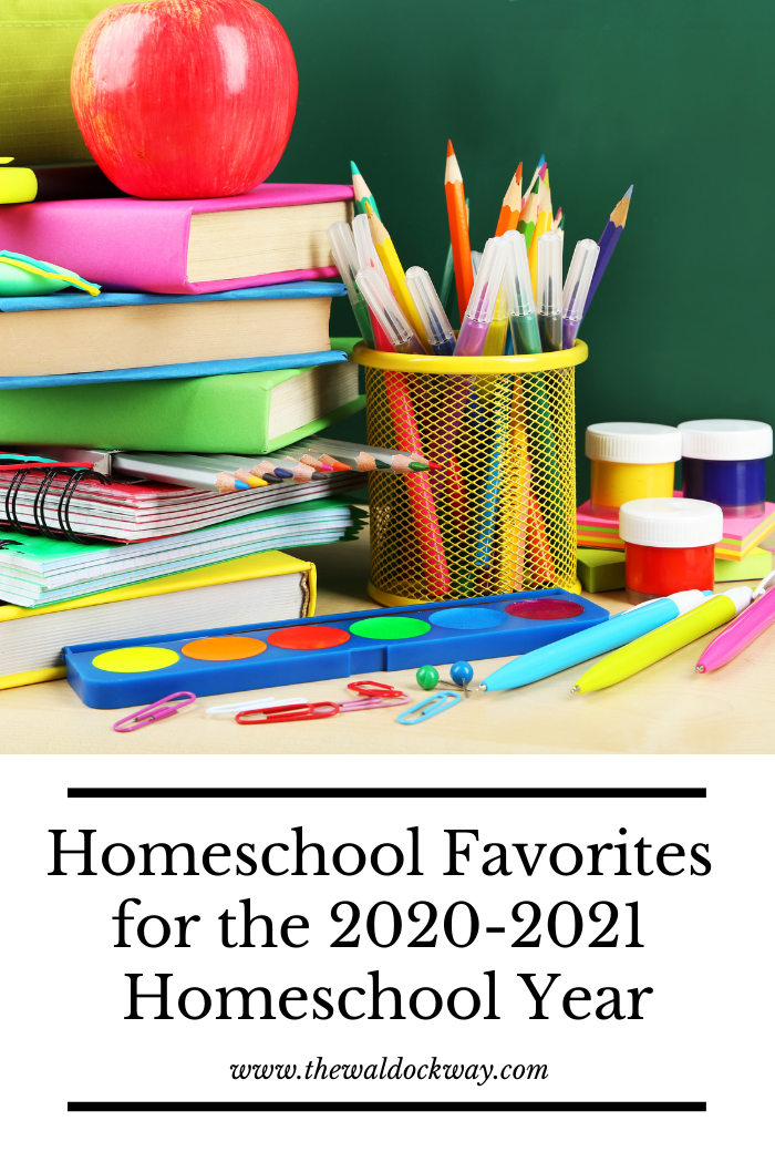 Each season seems to have different things that become favorites in our homeschool. These are my favorites for the 2020-2021 homeschool year.