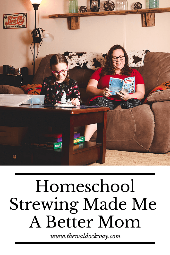 I struggled our first year of homeschooling. Every homeschool blog I read told me to wake up but I was NOT a morning person. Strewing saved my sanity!