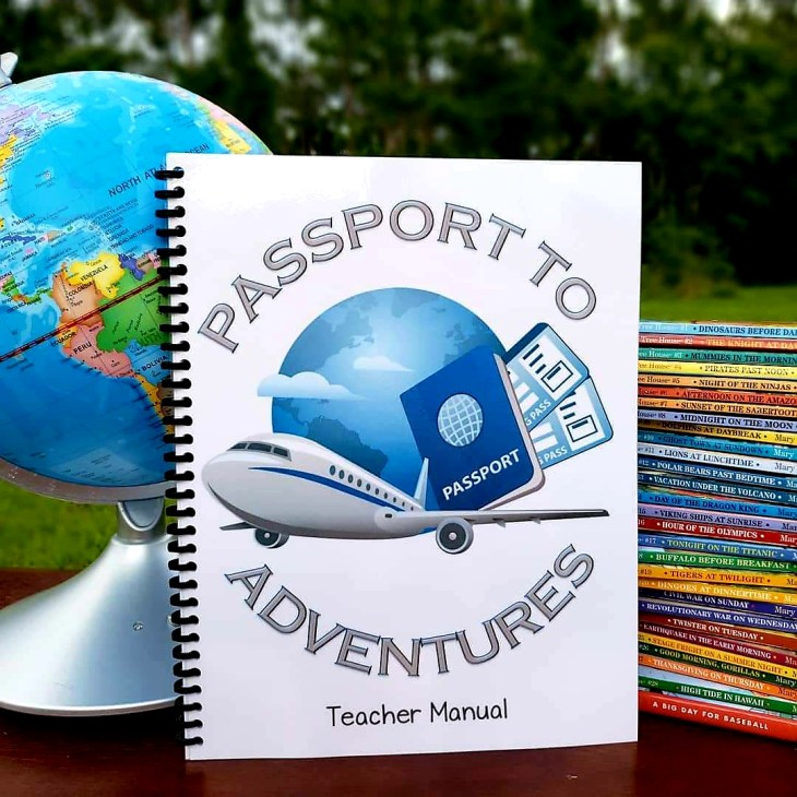 I planned this unit study around Emily's love of The Magic Treehouse book series. Homeschoolers can travel through time and space with this unit study following the adventures of Jack and Annie, characters from the book series.