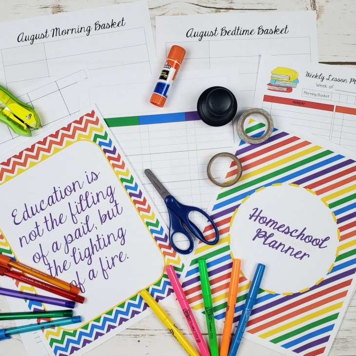 The Waldock Way Homeschool Planners were created because you do not always need something elaborated, sometimes you just want a simple layout that is in a checklist format and that is what this gives you along with options to make it fit your needs.